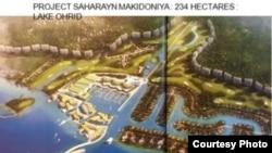 """Проектот """"Сахарајан Македонија"""", проектот што индиската компанија """"Сахара Индија Паривар"""" на индискиот милијардер Субрата Рој ќе го реализира во Македонија. Проектот предвидува изградба на туристичко-станбен комплекс кој ќе содржи објекти за рекреација, одмор, терени за голф, спа центри, марина-хотели, објекти за забава, казино на вода."""