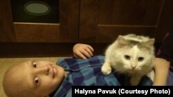 Максим Павук, дитина із рідкісним захворюванням. Його діагноз – первинний імунодефіцит.
