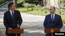 Совместная пресс-конференция лидеров России и Великобритании