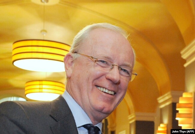 Бельгийский политик Арман де Декер в 2014 году.