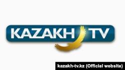"""Kazakh TV"" телеканалынын логотиби."