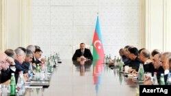 Президент Азербаджана Ильхам Алиев