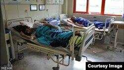 مصابون بفايروس كورونا في إيران