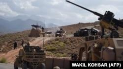 Афғонистондаги НАТО қўшинлари.