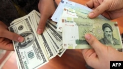 The Iranian currency hit record lows this week, falling to around 26,000 rials to the dollar.