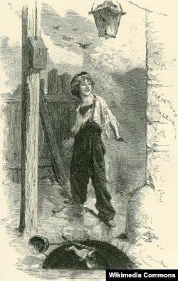 """Victor Hugo-nun """"Səfillər"""" romanının faciəvi qəhrəmanı - Qavroş"""