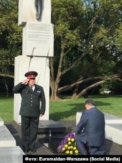 Президент України Петро Порошенко вшанував пам'ять жертв Волинської трагедії