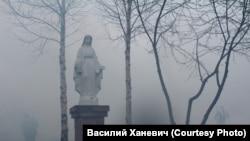 Костел после пожара. Белосток. Томская область. 2018 год