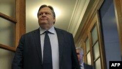 Министр финансов Греции Евангелос Венизелос