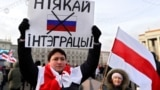 BELARUS – During the protest against the integration of Belarus and Russia. Minsk, December 7, 2019