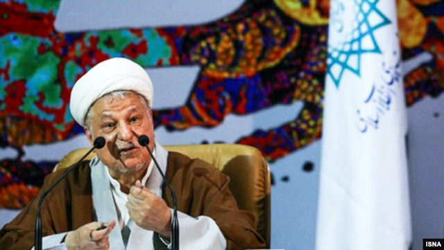 Former Iranian President Akbar Hashemi Rafsanjani (file photo)