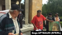 Сторонники Сталина в Гори