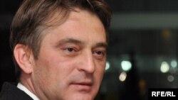 Zeljko Komsic, whose victory as the Croat member of the tripartite presidency was challenged by the HDZ.