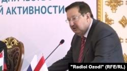 Игорь Лякин-Фролов, посол РФ в Таджикистане