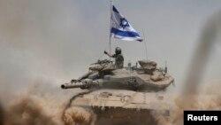 Ізраїльський танк. Ілюстраційне фото
