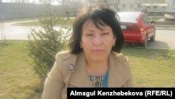 Жанат Сәтова. Алматы, 12 наурыз 2016 жыл.