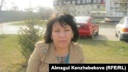 Мать ребенка школьного возраста Жанат Сатова. Алматы, 12 марта 2016 года.