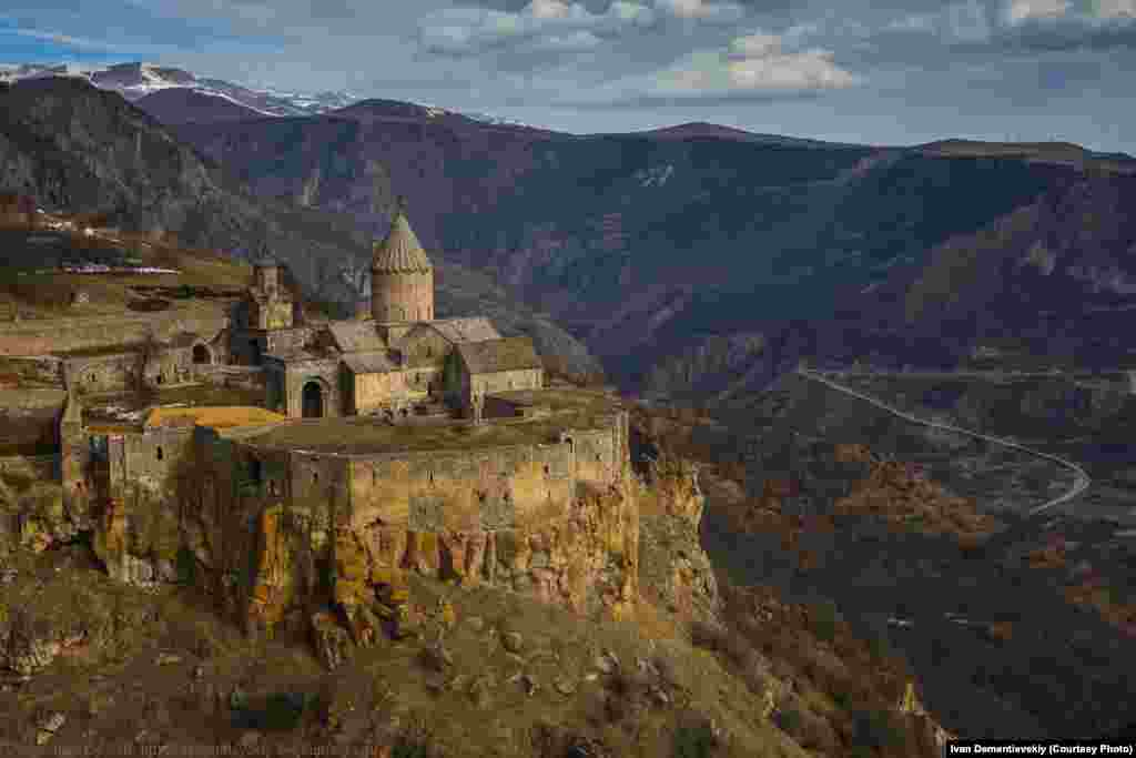 The ninth-century Tatev Monastery, located in Armenia's south.
