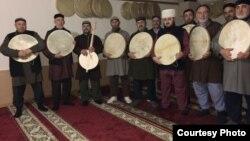 Чеченцы из селения Красная Поляна в Казахстане