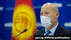Заместитель министра здравоохранения Мадамин Каратаев.