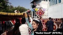 Свадьба в Таджикистане. Иллюстративное фото