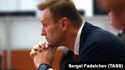 Алексей Навальный в ожидании решения ЦИК, 25 декабря 2017 год