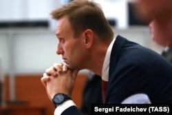 Алексей Навальный на заседании ЦИКа. 25 декабря