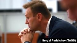 Алексей Навальный в ожидании решения ЦИК, 25 декабря 2017 года