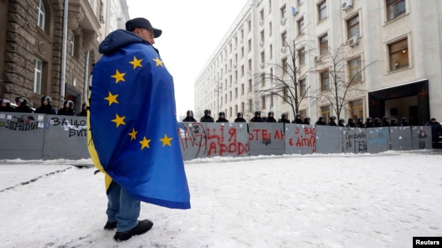 The legislation appears aimed at shutting down the boisterous pro-European protests that have convulsed Kyiv since Ukrainian President Viktor Yanukovych rejected an EU Association Agreement in November in favor of closer ties with Russia.