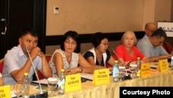 Құқық қорғау ұйымдарының конференциясы. Алматы, 3 тамыз 2015 жыл.