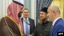 Наследный принц Саудовской Аравии Бен Салман и глава Чечни Рамзан Кадыров
