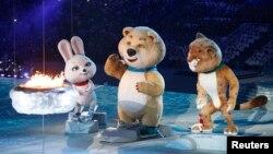 Ռուսաստան - Սոչիի ձմեռային Օլիմպիական խաղերի փակման արարողությունը, 23-ը փետրվարի, 2014թ.