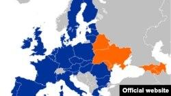 Мапа «Ўсходняга партнэрства»