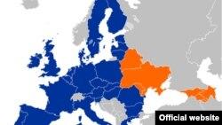 Harta Parteneriatului Estic