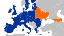 Եվրամիության Արեւելյան գործընկերություն ծրագրի քարտեզը