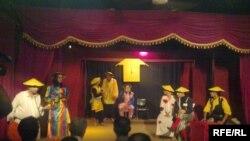 عرض مسرحية(ساعة الميدان) في الموصل