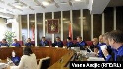 Sednica Ustavnog suda Srbije