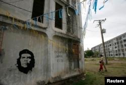 Жилой квартал в городе Сантьяго-де-Куба