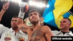 Ukrainian boxer Vasyl Lomachenko (file photo)