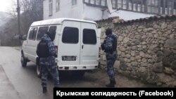 Обшук в Бахчисараї. Окупований Росією Крим