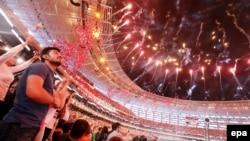 Ադրբեջան - Եվրոպական խաղերի բացումը Բաքվի Օլիմպիական մարզադաշտում, 12-ը հունիսի, 2015թ․