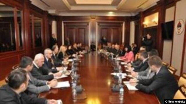 Sastanak predstavnika vlada RS i Crne Gore, Banjaluka, 30. novembar 2012.