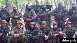 Боевики «Исламского государства», являющиеся выходцами из Северного Кавказа.
