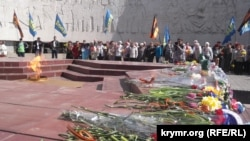 Митинг в честь Дня освобождения Ялты, 16 апреля 2017 года