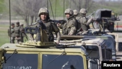Казахстанские военные. Иллюстративное фото.