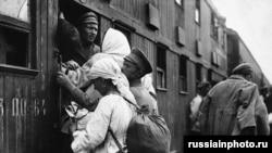 Фотография времен Гражданской войны в России