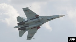 Літак типу Су-27