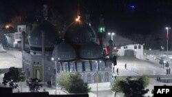 Усыпальница Карт-э Шахи. Кабул, 11 октября 2016 года.
