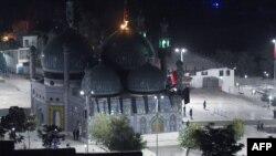 Кабулдегі шабуыл жасалған Карт-е Шахи мазары. Ауғанстан, 11 қазан 2016 жыл.
