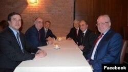 Встреча сопредседателей Минской группы ОБСЕ с главами МИД Армении и Азербайджана в Милане, 5 декабря 2018 г.